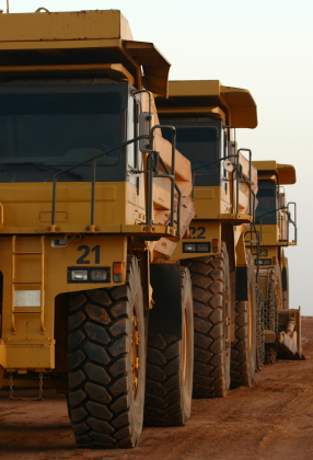 Heavy Equipment in Mining